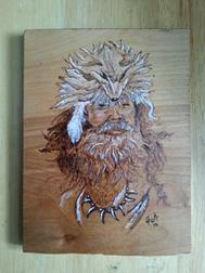 custom mountain man wood burning